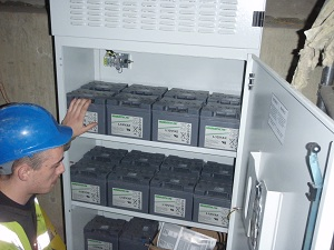 Inside The Central Battery System For Emergency Lighting