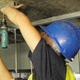 Securing Unistrut To Ceiling