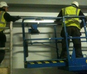 Preparing To Install Trunking At High Level