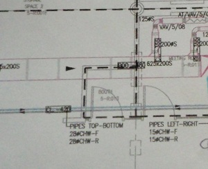 Drawing Showing Proximity Of Other Services