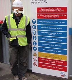 Site Rules & Wearing PPE
