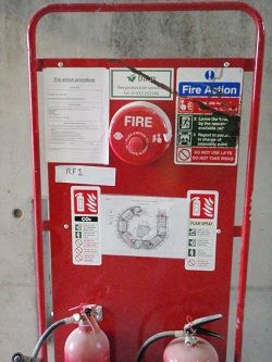 Fire Awareness Area & Fire Extinguishers