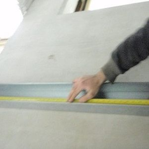 Measuring Out A Length Of Trunking
