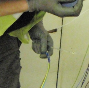 Using Nylon Draw Tape To Pull Cables Through Conduit
