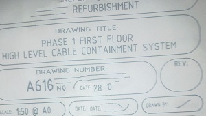 Electrical Drawing For Lighting And Containment